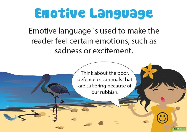 emotive language in persuasive writing